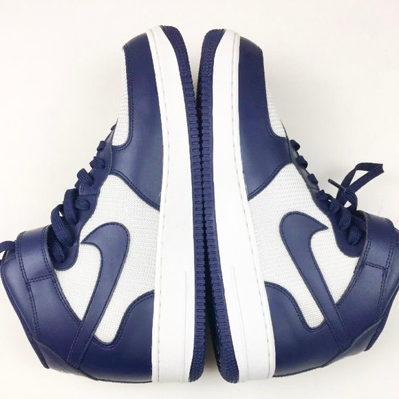 Nike Other - Nike Air Force 1 Men's Basketball Shoe Sz 11 Blue